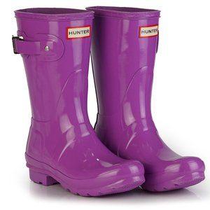 Hunter Original Short Gloss Waterproof Rain Boot